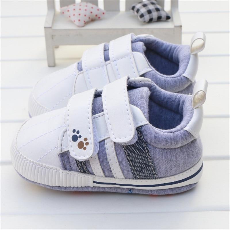 Nuevos Zapatos Del Bebé Buena Calidad Gris Dos Correa Nuevo nacido Bebé Niña Ni