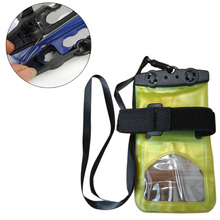 Waterproof Dry Bag Case Underwater Swimming Drifting Browsing Waterproof Cowl Pouch Pack for Telephone Random Shade