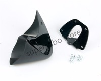 Motorcycle Gloss Bright Black Lower Front Chin Spoiler Air Dam Fairing Cover For Harley 06 17