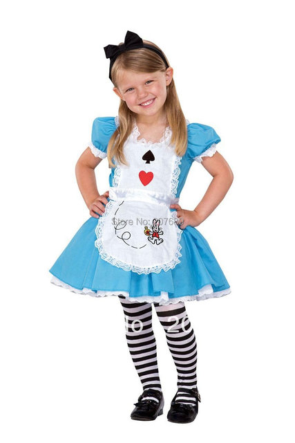 Cosplay Costume for Kids Blue beautiful toddler girls clothes ...