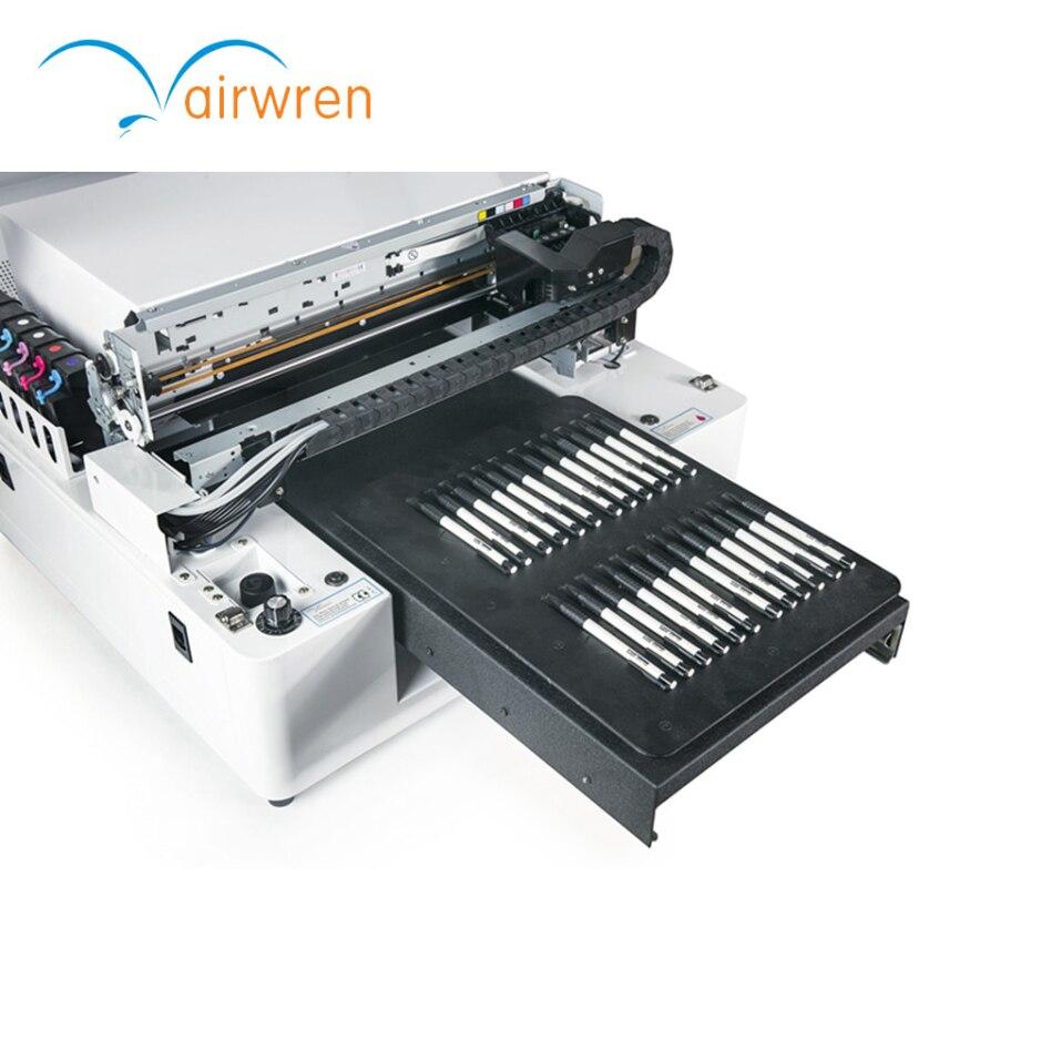 3d Effet Stylo Machine D'impression Numérique Uv Imprimante En Verre Avec Système CISS Pour Commercial