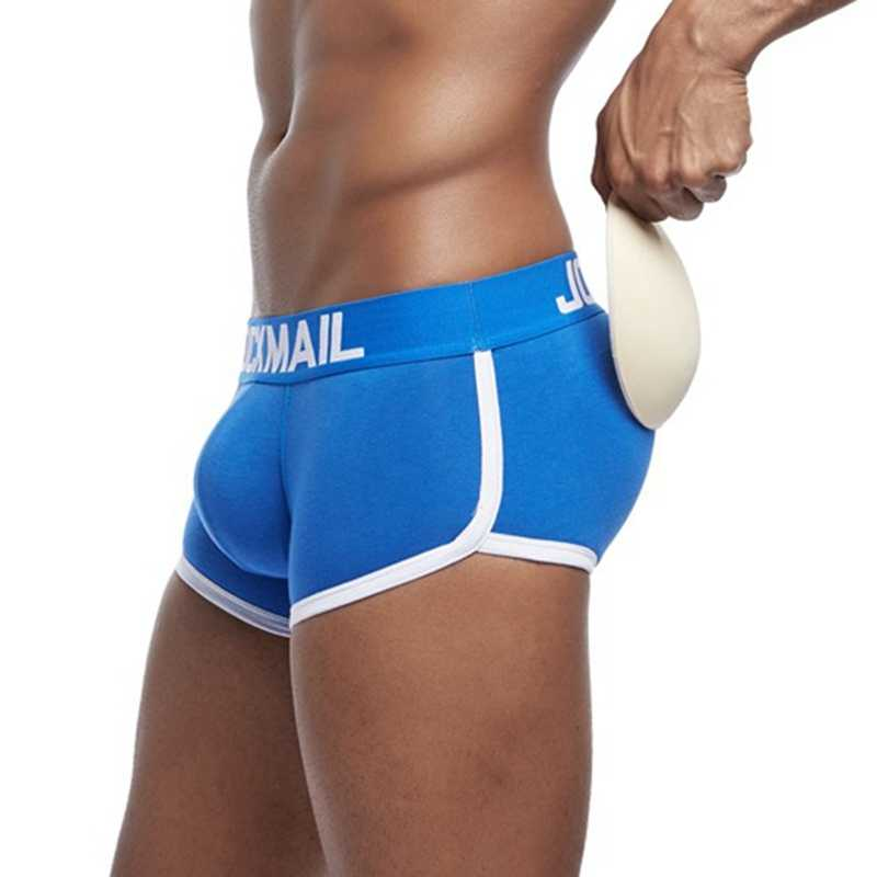 cbe3b7e6b1d Enhaner Boxer Push Up Male Boxers Lift Buttocks Underpants Butt Pads Men  Cotton Boxers Padded Underwear
