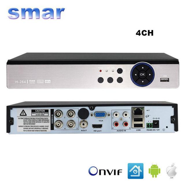 Smar 5 em 1 de segurança cctv dvr 4ch 8ch ahd 4mp câmera de 3mp 1080 P H.264 Gravador De Vídeo Híbrida para CVI TVI AHD Câmera IP Analógico Onvif2.3