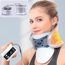Youhekang Electric Automatic Inflatable Neck Traction Cervical Vertebrae Air Traction Medical Neck Therapy Device Pain Relief