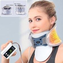 Youhekang Elektrische Automatische Aufblasbare Hals Traktion Halswirbel Luft Traktion Medizinische Hals Therapie Gerät Schmerzen Relief
