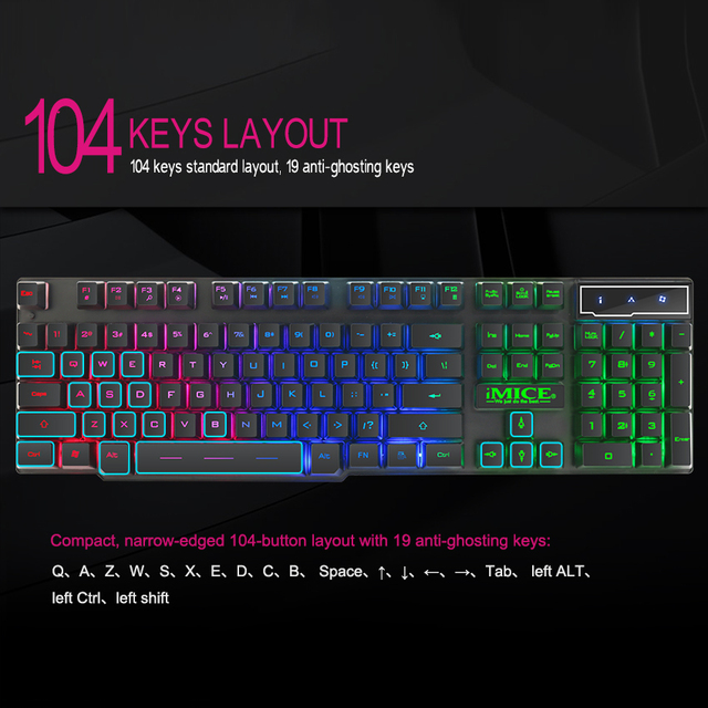 Fornite Gaming Keyboard with  2