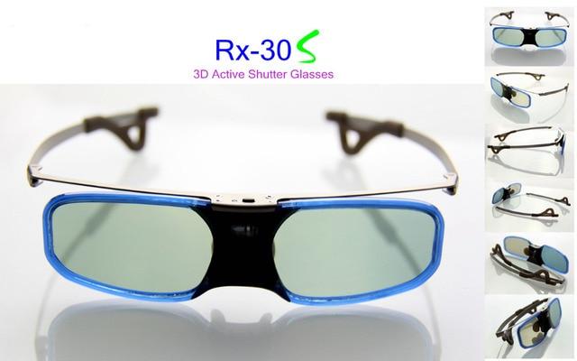 5b32ffcae Bluetooth óculos 3d do obturador ativo para samsung panasonic para sony 3d  tv universal tv 3d
