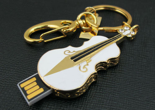Creative Gift Jewelry Usb Flash Drive Guitar Pendrive 64GB 32GB 16GB 8GB Memoria Pen Drive 32GB Pen Driver Disk On Key Stick