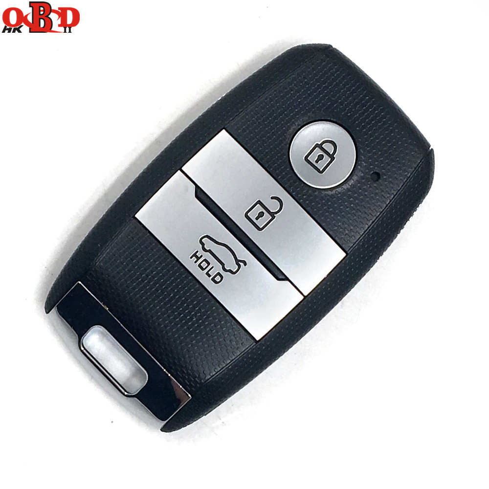 HKOBDII New Folding Flip Remote Car Key Fob Keyless Entry 3 Button 433Mhz With 46 Electronic Chip For K5 Sorento Sportage