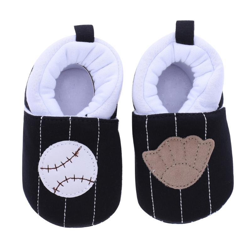 Cartoon Infant Toddler Shoes Thick Cotton Blended Autumn Winter Slip-On Prewalker Anti-skid Warm Shoes Soft First Walker Shoes