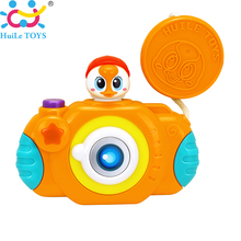 Wholesale HUILE TOYS 3111B Baby Toys Camera Toy Projection Simulation Kids Digital Take Photo Animal Toys for Children Gifts