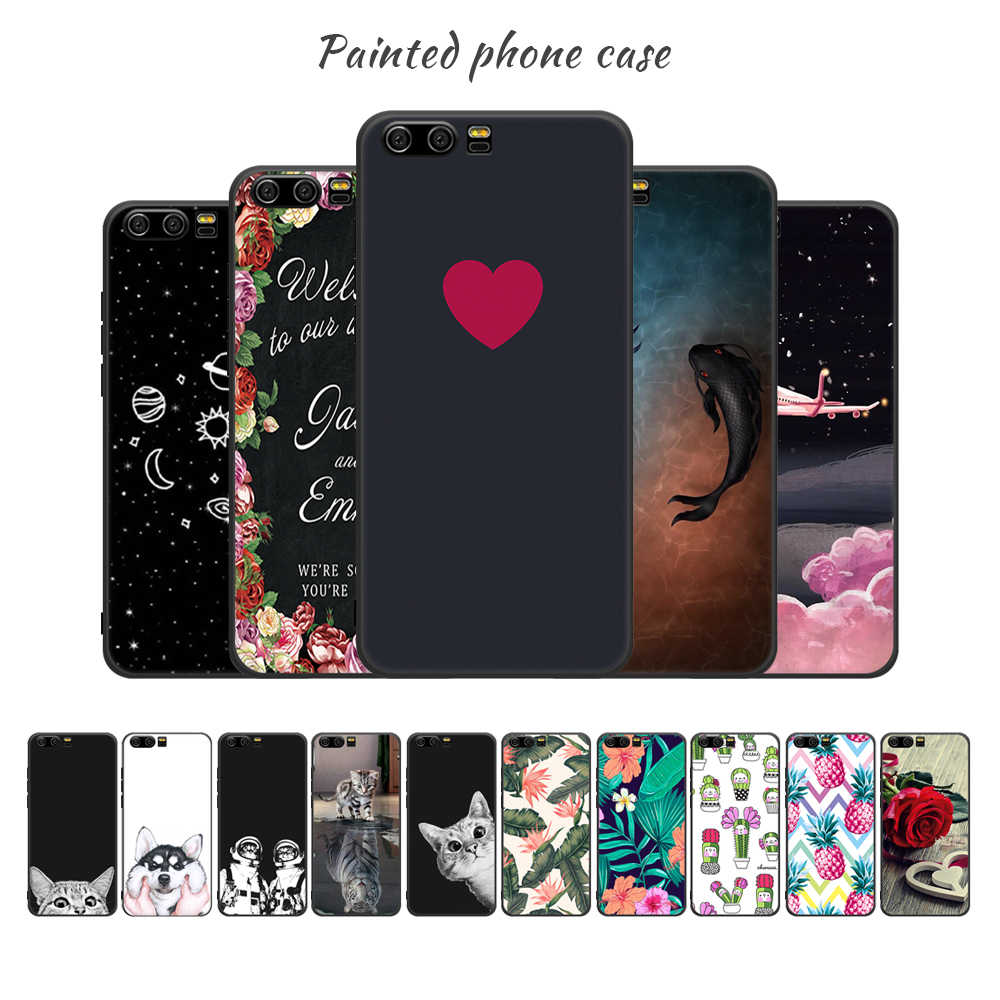 Motjerna Soft TPU Phone Case For Huawei Y9 2018 P20 Pro P10 Mate10 Lite P8 P9 Nova 2i Back Cover Case For Honor 9 Lite 8 Lite
