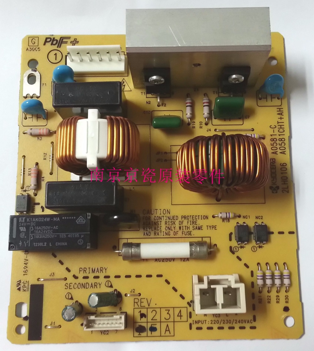 New Original Kyocera 302LH94190 PWB HEATER 200 ASSY for:TA3500i 4500i 5500i new original kyocera 302np94170 pwb scanner led assy for ta3010i 3510i 2551ci