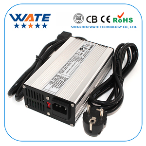 Image 1 - 84 v 3A מטען 72 v ליתיום סוללה חכם מטען משמש 20 s 72 v ליתיום סוללה גבוהה כוח עם מאוורר אלומיניום מקרה