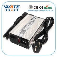 Chargeur intelligent de batterie de Li ion du chargeur 72 V 3A de 84 V utilisé pour la batterie de Li ion de 20 S 72 V haute puissance avec le boîtier en aluminium de ventilateur