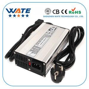 Image 1 - Chargeur intelligent de batterie de Li ion du chargeur 72 V 3A de 84 V utilisé pour la batterie de Li ion de 20 S 72 V haute puissance avec le boîtier en aluminium de ventilateur