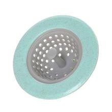 1 шт. силиконовый пшеничный соломенный ситечко для кухонной раковины канализационная затычка в ванную комнату фильтр для волос фильтр для ванной комнаты душевой слив раковина Крышка для дренажа#20