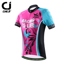 2016 Women Bike Cycling Jersey Top ropa ciclismo MTB Sports Clothing Cycling jersey /Cycling Bicycle clothing/Maillot Ciclismo
