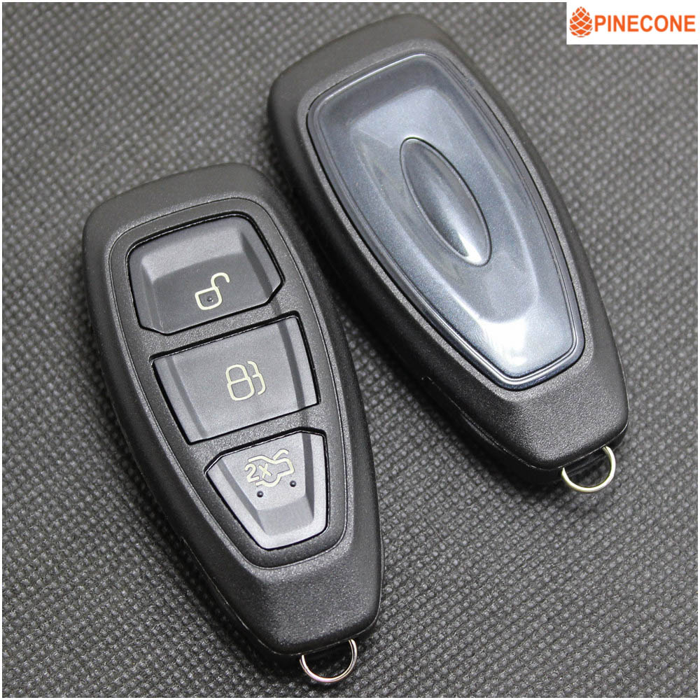 PINECONE для ключа Shell для FORD MONDEO GHIA-X FOCUS ECOSPORT автомобильное KUGA Hu101 Blade 3 Button, высококачественный запасной чехол для ключа для внедорожника
