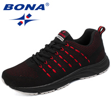New Popular Style Men Running Shoes Mesh Weaving Upper Sport Shoes Ourdoor Jogging Walking Sneakers Lace Up Free Shipping