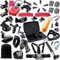 Nova Gopro Acessórios Set kit Cabeça Chest Mount Monopé Flutuante Para go pro hero 4 3 + 2 xiaomi yi sjcam sj4000 câmera de ação
