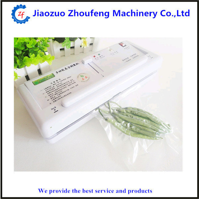 Automatic food vacuum packaging machine mini home use vacuum sealer ZF household vacuum packaging sealing machine sealer wet and dry use 30cm 110w 220v