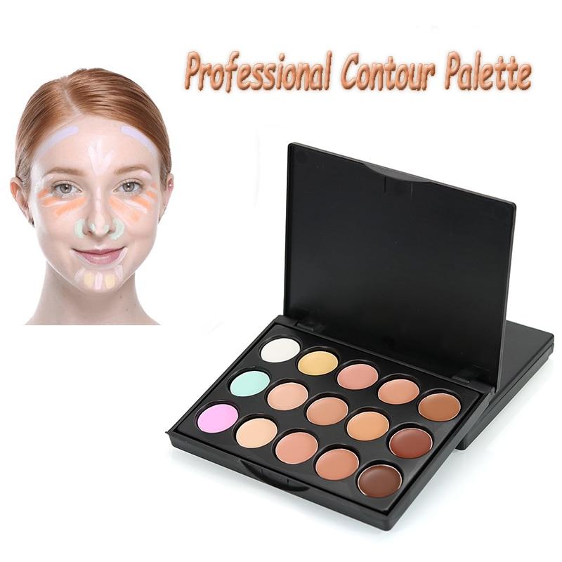 15 Цвет бренда Макияж База Цвет корректор крем для контура Корректоры для лица Палитры konsiler