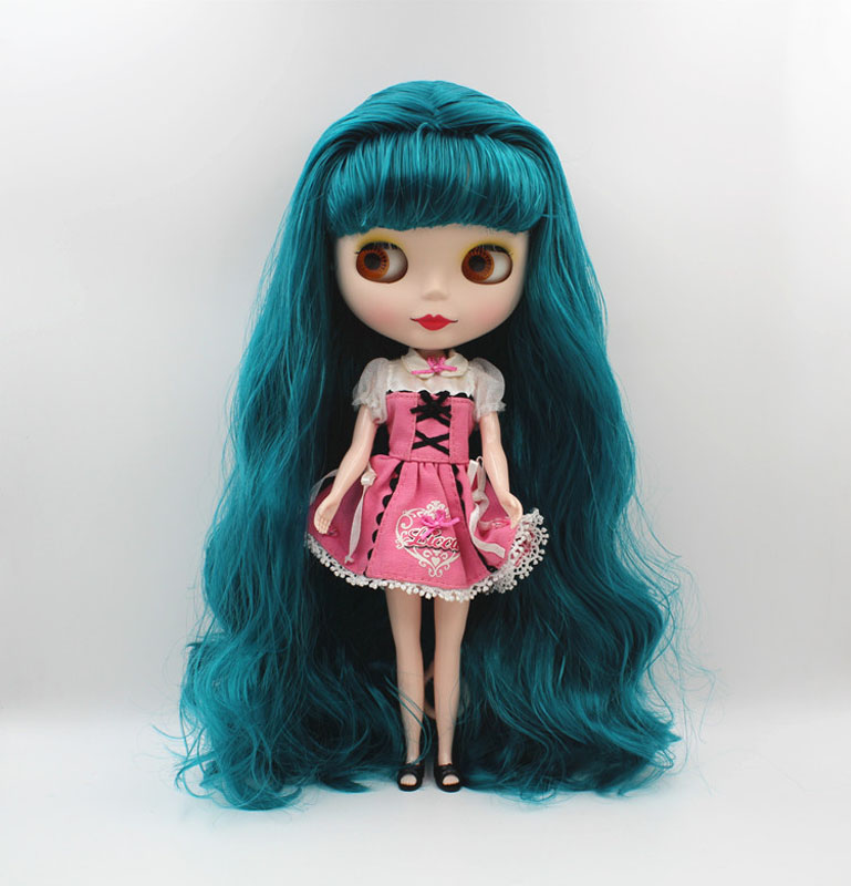 Free Shipping big discount RBL-458M DIY Nude Blyth doll birthday gift for girl 4colour big eye doll with beautiful Hair cute toy free shipping big discount rbl 331 diy nude blyth doll birthday gift for girl 4colour big eye doll with beautiful hair cute toy