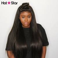360 lace frontal wig pre plucked with baby hair hot star 150% glueless 360 lace wig best Brazilian straight remy human hair wigs