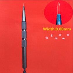 جديد 0.80 مللي متر زرع الشعر شفرات الياقوت أدوات زرع الشعر بصيلات الشعر