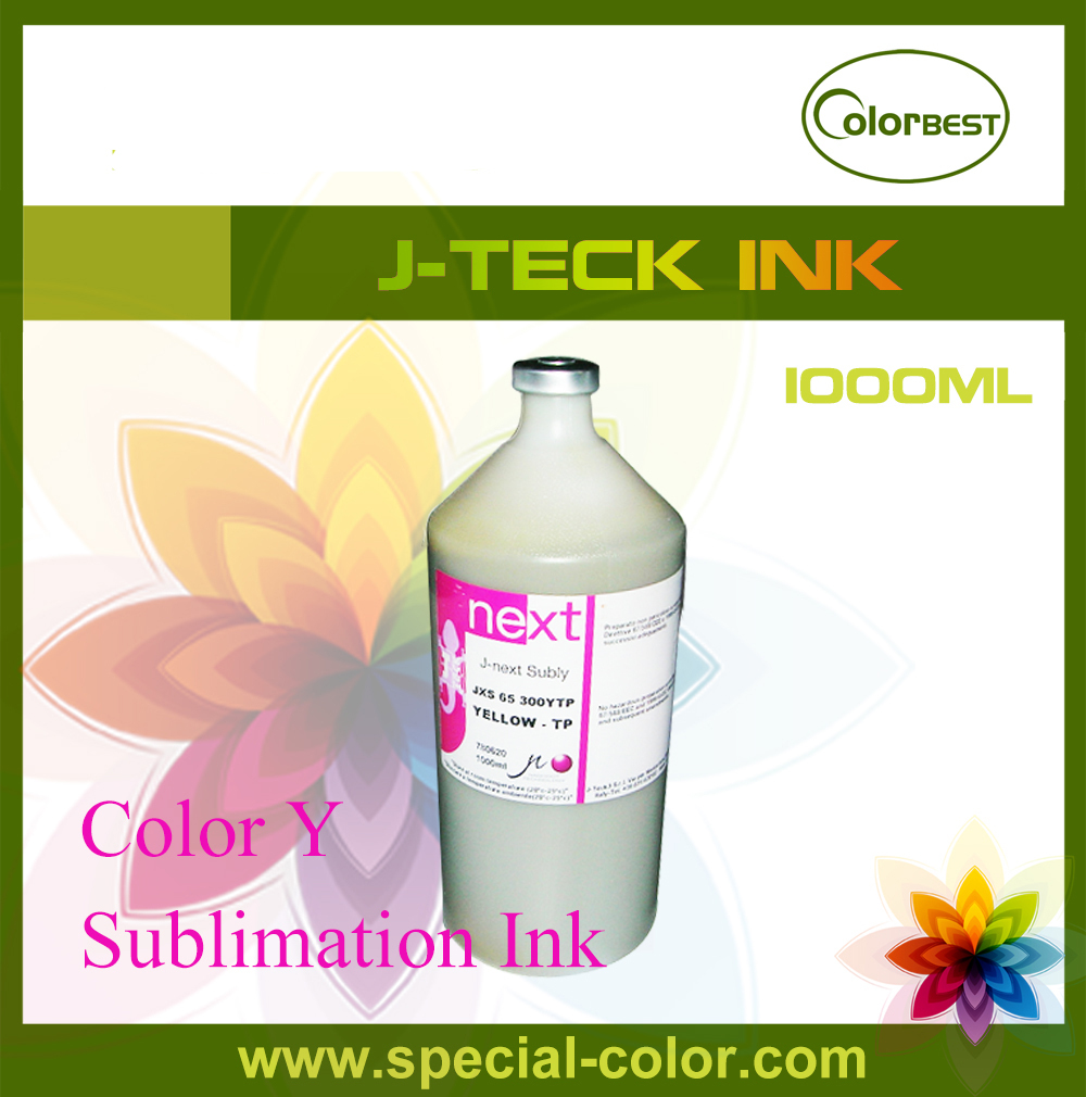 Waterbased Transfer Ink 1000ml Sublimation Ink in Bottle J-next Ink for Epson DX4/DX5 4color 1000ml bottle sublimation ink refill kit for epson ic93 for epson workforce px m7050 px s7050 m860f s860 printer