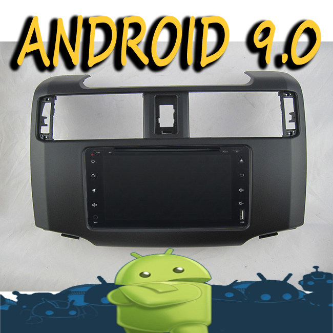Android 9.0 radio tape recorder 8-core car multimedia GPS Navigation for <font><b>TOYOTA</b></font> <font><b>4RUNNER</b></font> <font><b>2012</b></font> HD DVD video player + frame image