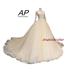 ANGELSBRIDEP Wedding Dresses 2019 Ball Gown Bride Dress