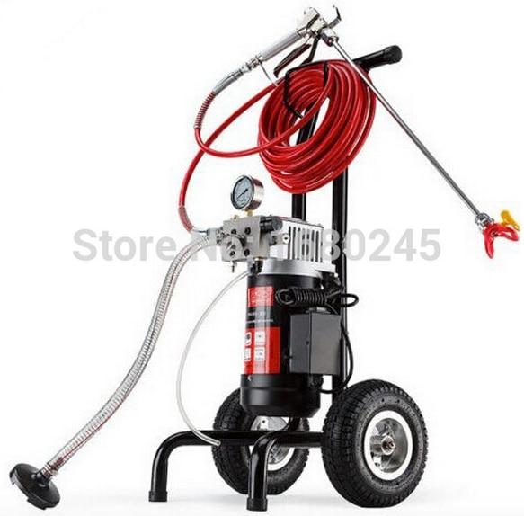 Airless Spray Gun Electric Sprayer Sprayer Electric Electric M819-A Machine with 50cm قطب گسترش 517/519 نکات تجهیزات نقاشی