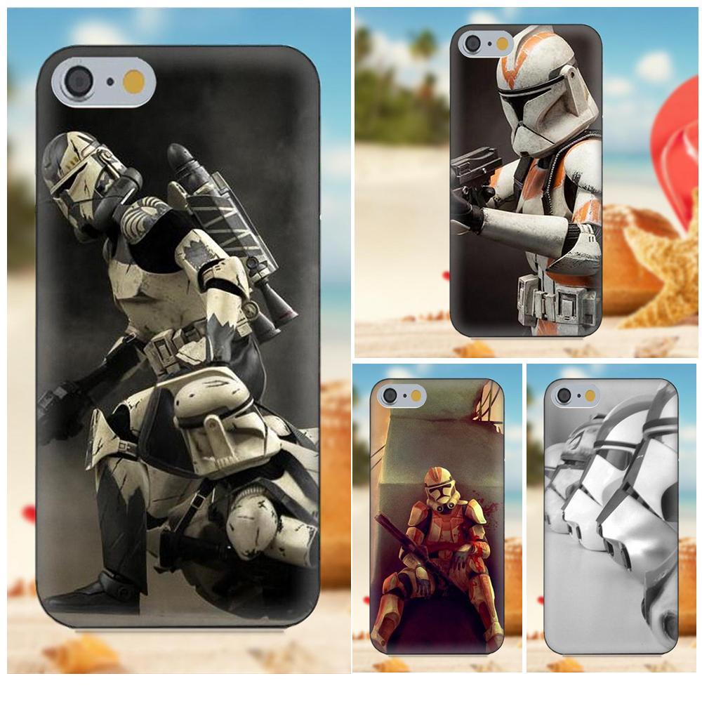 Diwqxr Clone Trooper Stormtrooper For Apple iPhone 4 4S 5 5C 5S SE 6