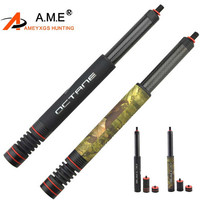 7 11 inches Scalable Recurve Compound Bow Carbon Stabilizer System Bow Arrow Stabilize Hunting Sport Side Bar Extension Rod