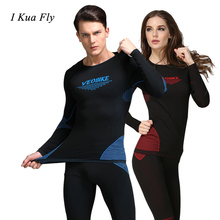 Winter Warm Outdoor Sports Thermal Underwear Set Polartec Long Johns Men Women Top Pants Cycling Base Layers 4
