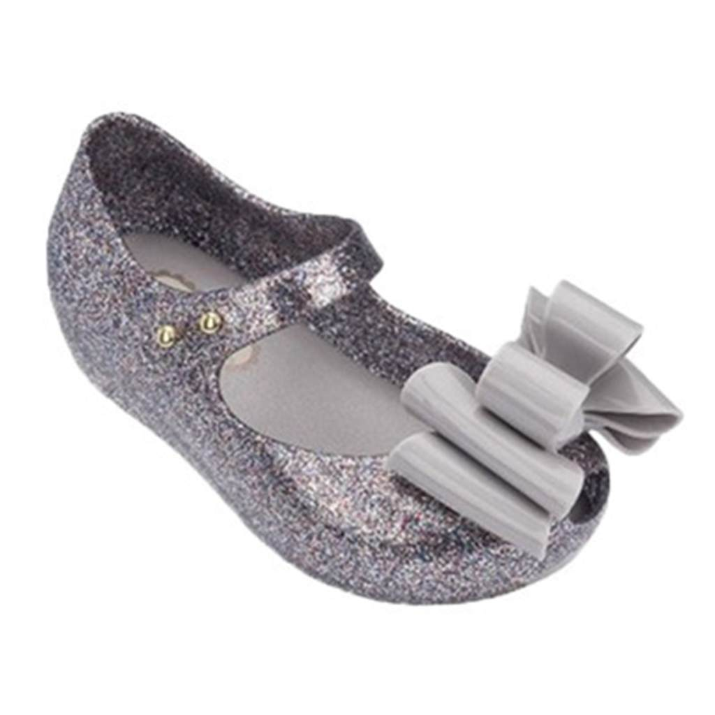 Melissa Rain Mini Shoes Multi-tiered Bow 2018 New Summer Children Jelly Shoe Candy Soft Princess Girl Fish Head Sandals Kids ...