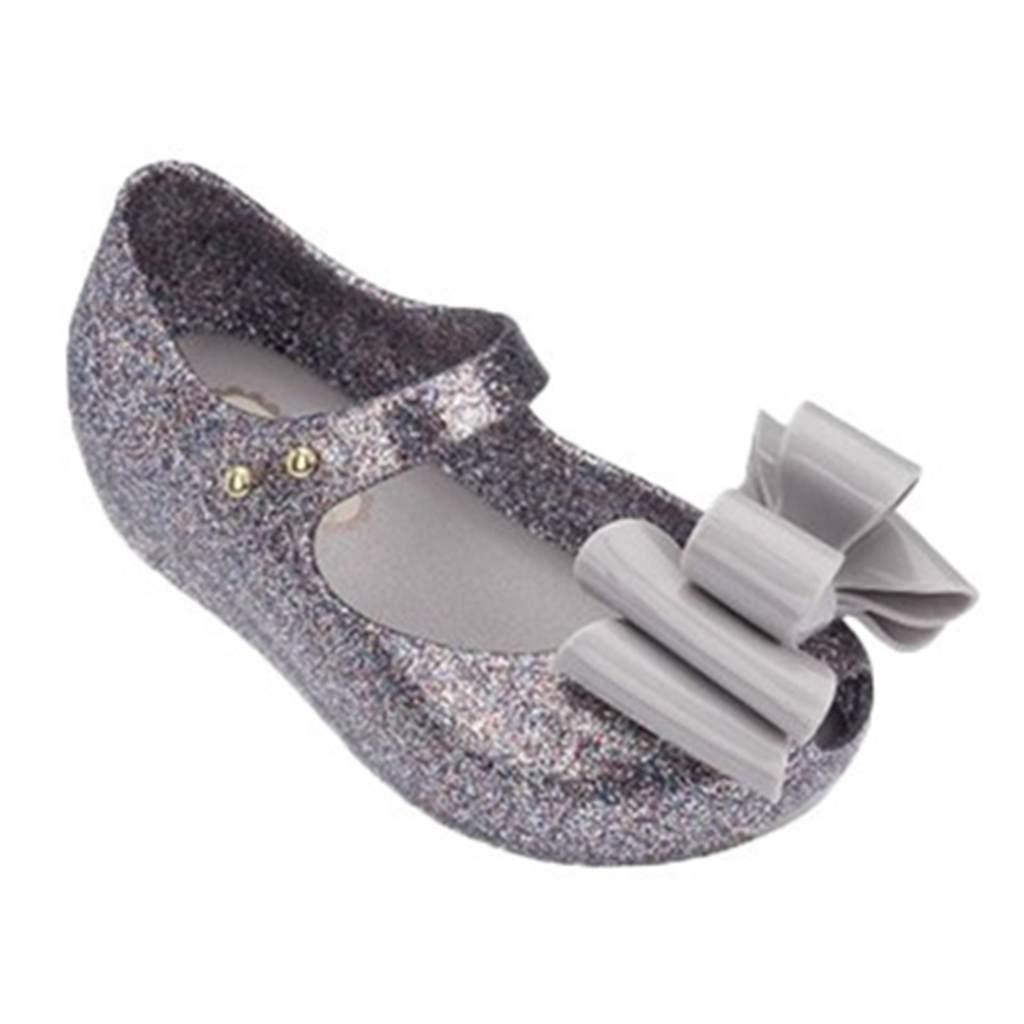 3898d7a1d Melissa Rain Mini Shoes Multi-tiered Bow 2018 New Summer Children Jelly Shoe  Candy Soft Princess Girl Fish Head Sandals Kids