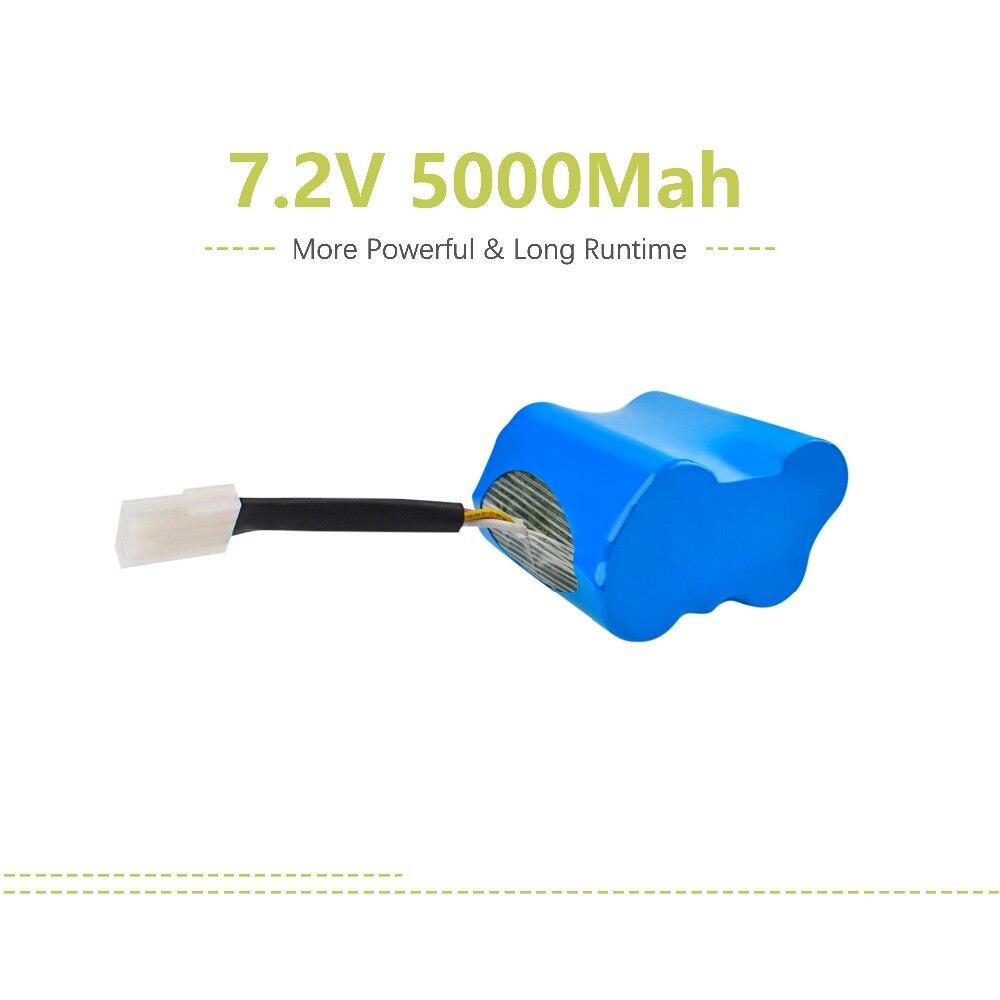 2X7.2 V 5000mAh batterie au Lithium XV-11 pour Neato XV-11 Signature Pro robot aspirateur L15