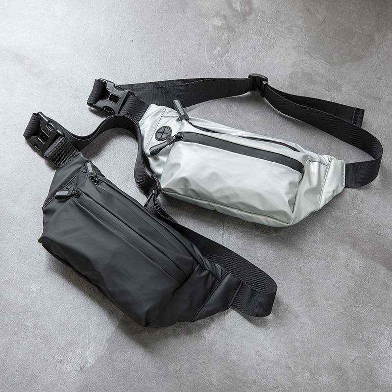 Waterproof Man Waist Bag Fashion Chest Pack Outdoor Sports Crossbody Bag Casual Travel Male Bum Belt Bag