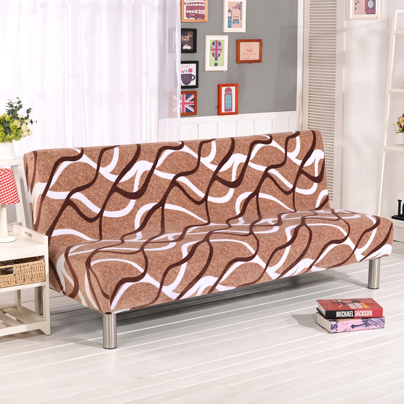 Admirable Us 20 4 40 Off Velvet Bed Sofa Cover All Inclusive Stretch Couch Thicken Plush Cover Without Armrest Folding Sofa Cover Set Leather Protect In Sofa Gmtry Best Dining Table And Chair Ideas Images Gmtryco