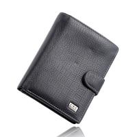 Men Wallets 2016 Fashion Designers Famous Brand 100 Genuine Leather Money Pocket Large Capacity Men Purses