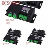 BC 853/BC 853 CC 3CH BC 853 350/BC 853 700 CV/CC PWM DMX512Constant voltage decoder controller 350mA 700mA led Decoder driver