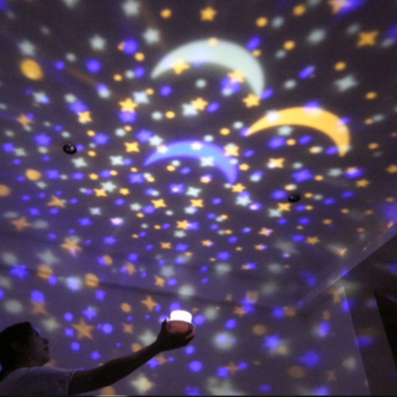 Mabor LED USB Starry Sky Cosmos Projector Christmas Birthday Children Kids Bedroom