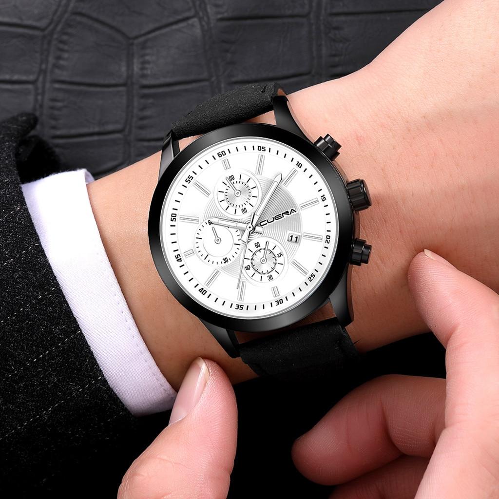 HTB1JFy.adfvK1RjSspfq6zzXFXa7 Fashion mens watches top brand luxury business sport quartz wrist watch leather watchband women watches ladies dress clock USPS