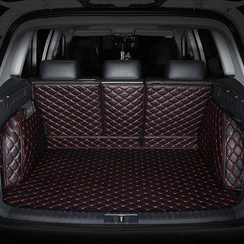 Special car trunk mats for Nissan All Models Qashqai Note Murano March Teana Tiida Almera X-trai car accessories car-styling