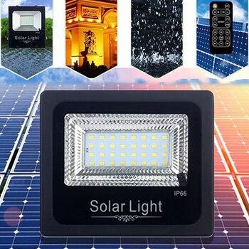 Solar Power Floodlight Solar Floodlight Non Polar Dimming Security Lamp Durable Garden Lamp Solar Spotlights Eco-Friendly Сумка