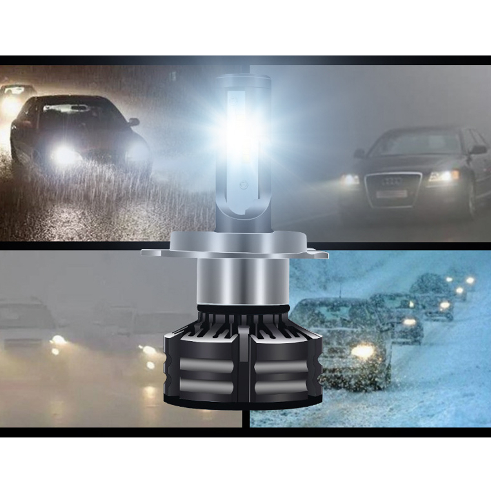 Car Lights Punctual Timing Automobiles & Motorcycles Frugal Car-styling Head Light Bulb Led H4 9012 H8 3000k/4300k/6000k For Toyota Tundra Rav4 Venza For Chevrolet C3500 K3500 Tracker Etc