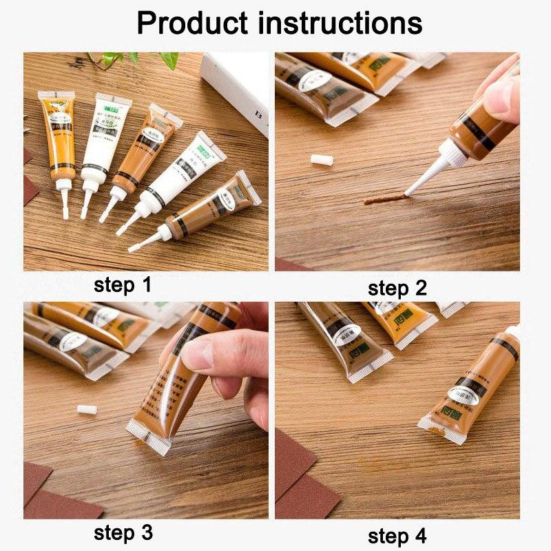 Furniture Wood Door Floor Scratch Repair Concealer Easy Fix For Home Floor